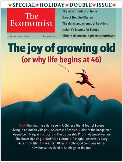 The Economist - December 18, 2010 cover - Slover Linett Blog